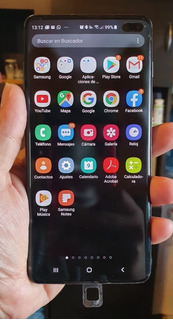Combo Celular Samsung S10+ Con Reloj Smartwatch