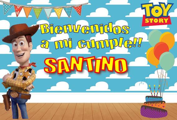 Woody Toy Story Cumpleaños Candy Bar Envio Gratis