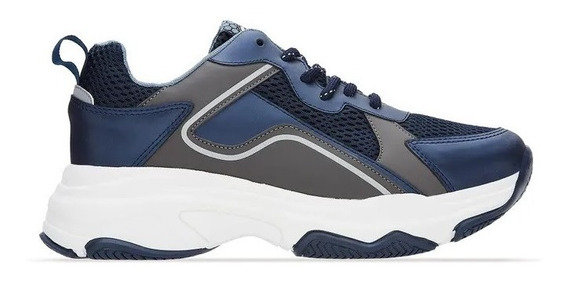 Tenis De Sneaker Azul Marino 2705309e-20