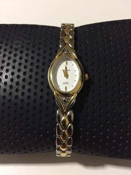 Relógio Seculus Dourado Feminino