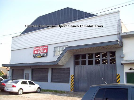 Excelente Deposito Industrial Salida A 2 Calles
