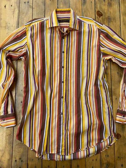 Etro Camisa Para Caballero Talla 41