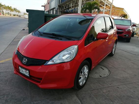 Honda Fit 2013 Rojo