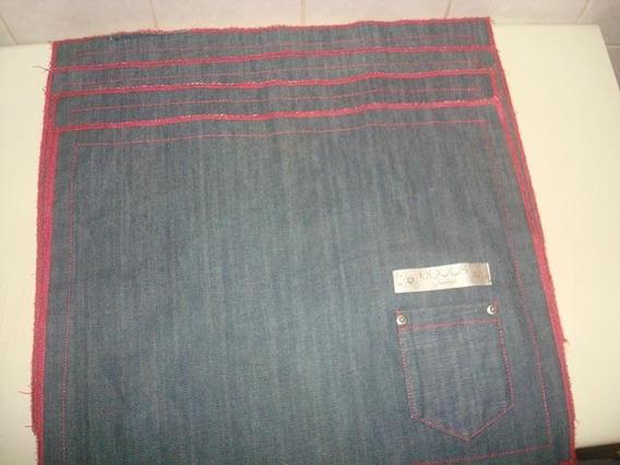 Kit C/ 4 Jogo Americano Em Jeans Indigo - Marca Equus -