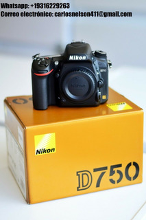 Nikon D750 Dslr 24.3mp Camera Body Only 100k Shutter Count