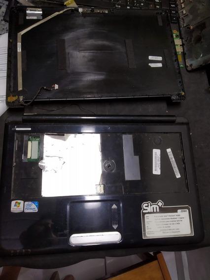Carcaça Completa Notebook Positivo Mobile Sim 2044