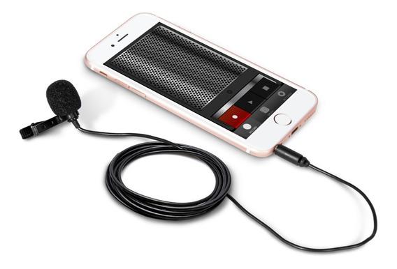 Micrófono Lavalier Universal Con Tecnología Omnidireccional