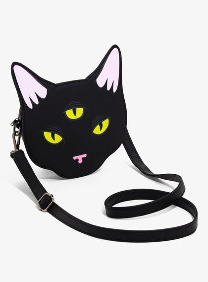 3 Eyed Cat Loungfly - Cartera Gato 3 Ojos