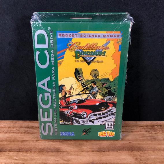 Cadillacs & Dinosaurs Original Tectoy Lacrado P/ Sega Cd!!