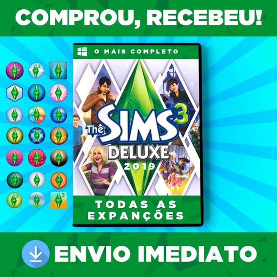 The Sims 3 + Envio Na Hora 24h + Todas Expansões,dlc,objetos