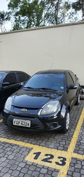 Ford Ka Preto 2013 - Completo
