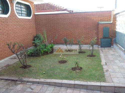 Casa Residencial À Venda, Jardim Paulistano, Ribeirão Preto. - Ca0838