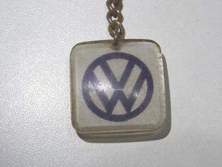 Chaveiro Antigo Coleção Logo Vw Concessionaria Ducauto Rio