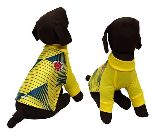Camiseta Seleccion Colombia Para Perro Talla M
