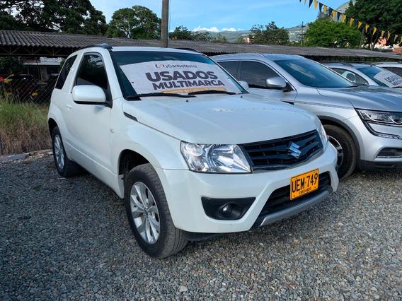 Suzuki Grand Vitara Sz Mt 2.4cc 4x4 Blanco 2015 Uem749