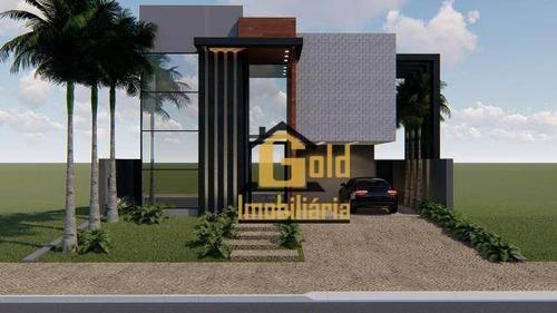 Casa Com 4 Dormitórios À Venda, 320 M² Por R$ 2.000.000 - Condomínio Buona Vita - Ribeirão Preto/sp - Ca0796