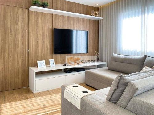 Apartamento Com 3 Dormitórios À Venda, 70 M² Por R$ 549.000,00 - Jardim Chapadão - Campinas/sp - Ap7858