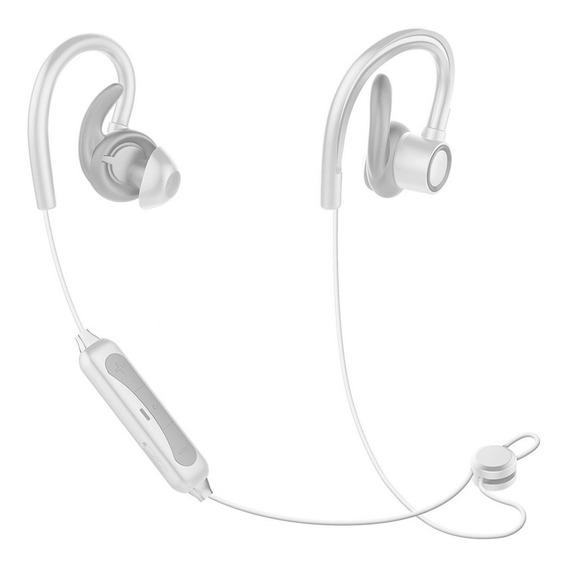 Fone De Ouvido Bluetooth Sem Fio Esportivo Sumexr Branco