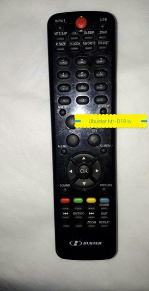 Controle Remoto Para Tv H Buster Htr D19 Lhs1283 Original