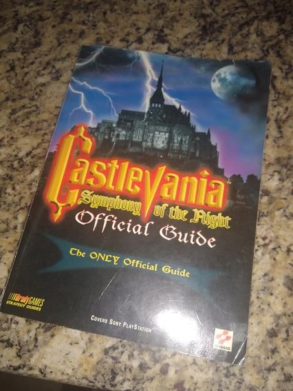 Guia Livro Oficial Castlevania Symphony Of The Night