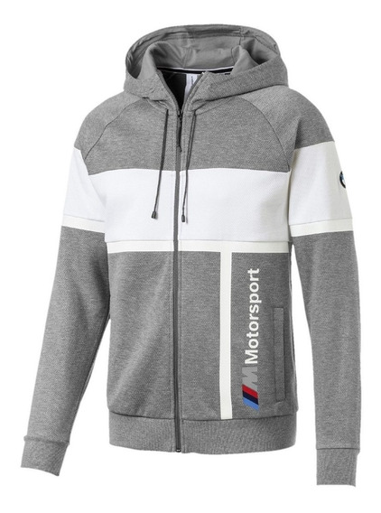 Bmw Mms Mens Hooded Sweat Jacket- Original