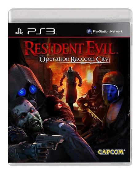 Resident Evil Operation Raccoon City - Ps3 - Usado -original