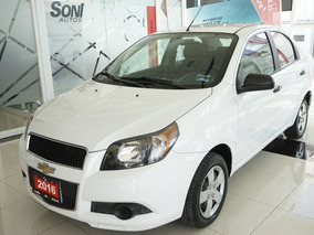 Chevrolet Aveo 1.6 Lt At Sedán 2016