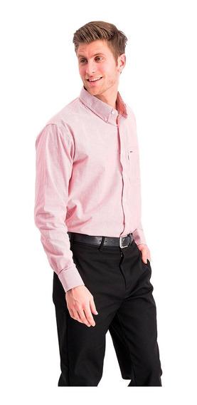 Camisa A Rayas Manga Larga Oxford De Importación Usa Oferta