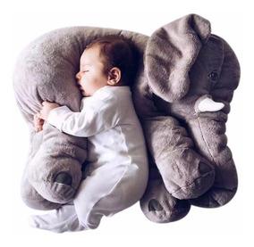 Elefante Almofada Travesseiro Pelúcia 60 Cm