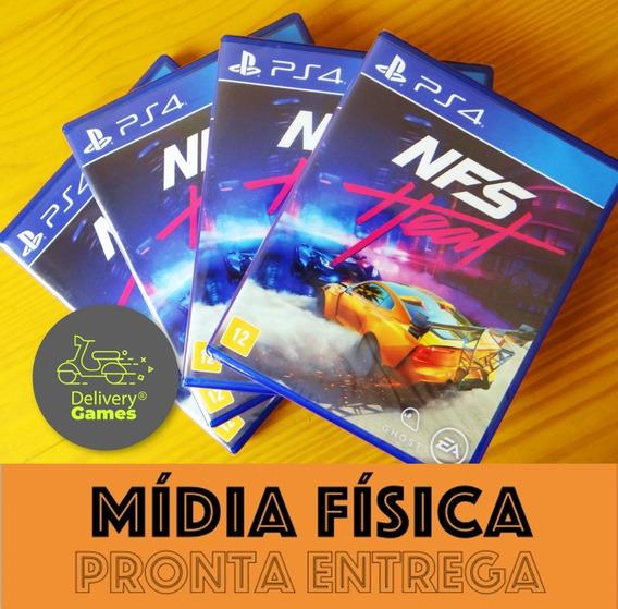 Need For Speed Heat Ps4 Mídia Física Novo Lacrado + Nf