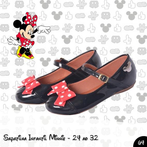 Sapatilha Infantil Da Minnie