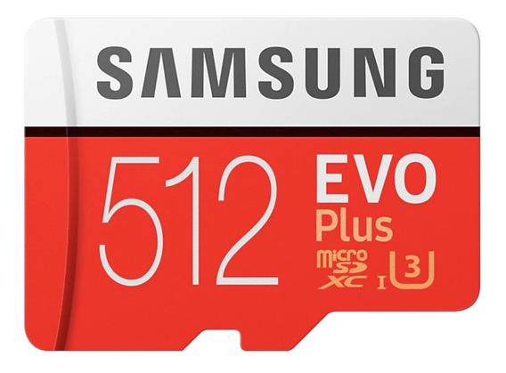 Cartao Samsung Micro Sdxc 100mb/s 512gb 4k Drone Gopro Hero7