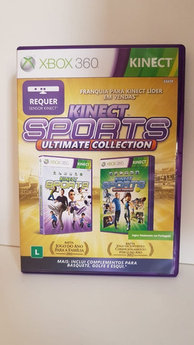 Kinect Sports Ultimate Collection Xbox360 - 2 Jogos Original