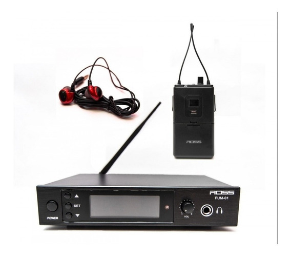 Sistema De Monitoreo Inalámbrico In-ear Ross Fum-001
