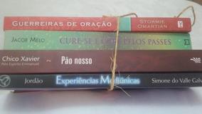 Livros Espirita Aut. Diversos Lote 5 Usados 4unid