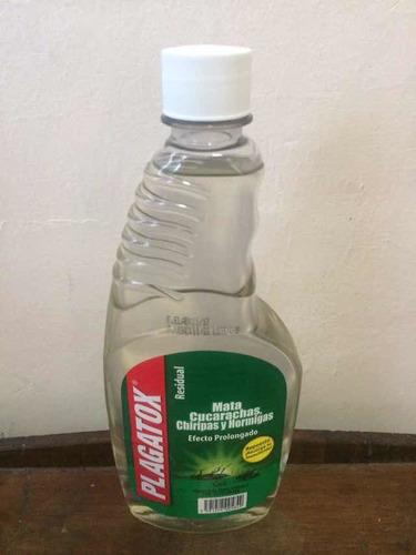 Plagatox 500 Ml Veneno Liquido Mata Chiripas Y Cucarachas