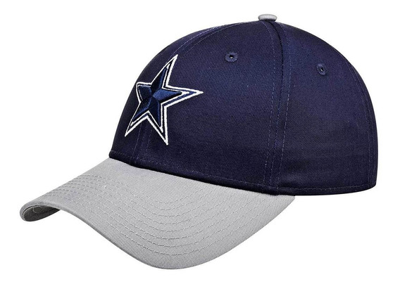 Gorra Cowboys New Era Marino Gris 093-553