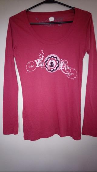 Camiseta Marca Be Love De Algodón Organico