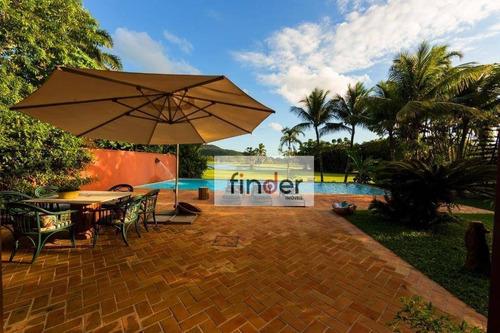 Imagem 1 de 27 de Mansão No Guarujá Golf Club, Av. Pernambuco, 471. São 576 M², 4 Suítes, Piscina E Jardim. Praia Do Pernambuco - Guarujá/sp - Ca0792
