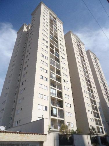 Apartamento Com 3 Dormitórios À Venda, 70 M² Por R$ 371.000,00 - Vila Valparaíso - Santo André/sp - Ap2082