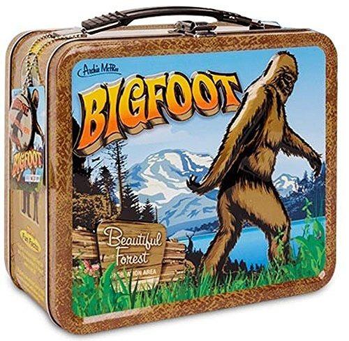 Bigfoot Sasquatch Retro Snack Lunch Box