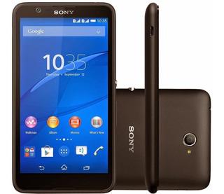 Celular Sony E4 Dual Tv Vitrine Novo Preto Original