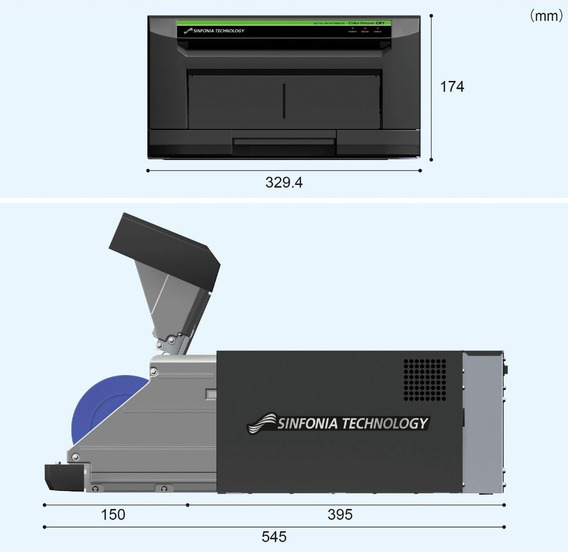 Impressora Fotografica Sinfonia Technology Ce1