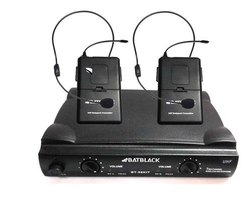 Microfono Profesional Inalambrico Vincha Uhf, 80mts, Malet