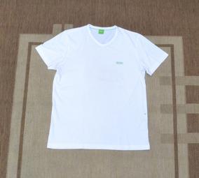44e8e84991 Camiseta Hugo Boss Branco Original Importado - Tamanho M