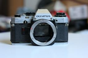 Camera Olympus Om 10. Somente Corpo Sem Lente. Leia Tudo.