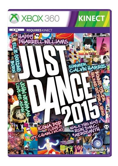 Just Dance 2015 - Xbox 360 - Usado - Original - Mídia Física