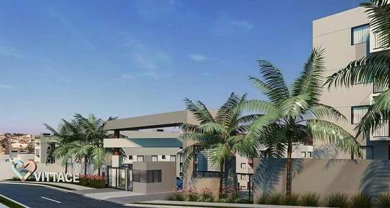 Apartamento Para Venda Em Ponta Grossa, Jardim Carvalho, 3 Dormitórios, 1 Banheiro, 1 Vaga - Vitacceja_1-1059659