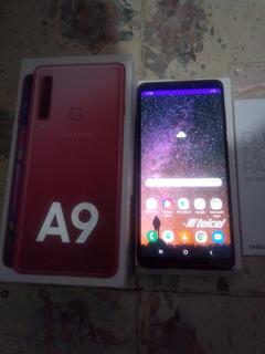 Samsung A9 128 Gb + 6 Gb Ram Rosa Telcel