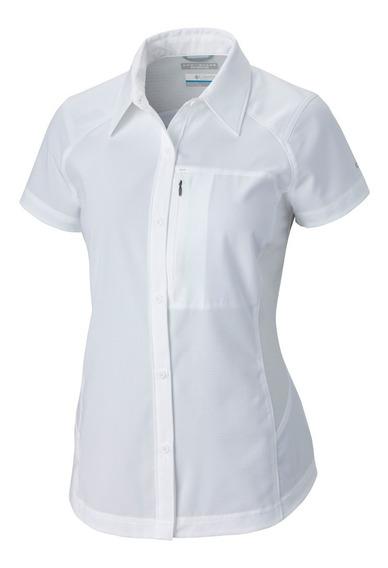 Camisa Columbia Dama Manga Corta Silver Ridge.